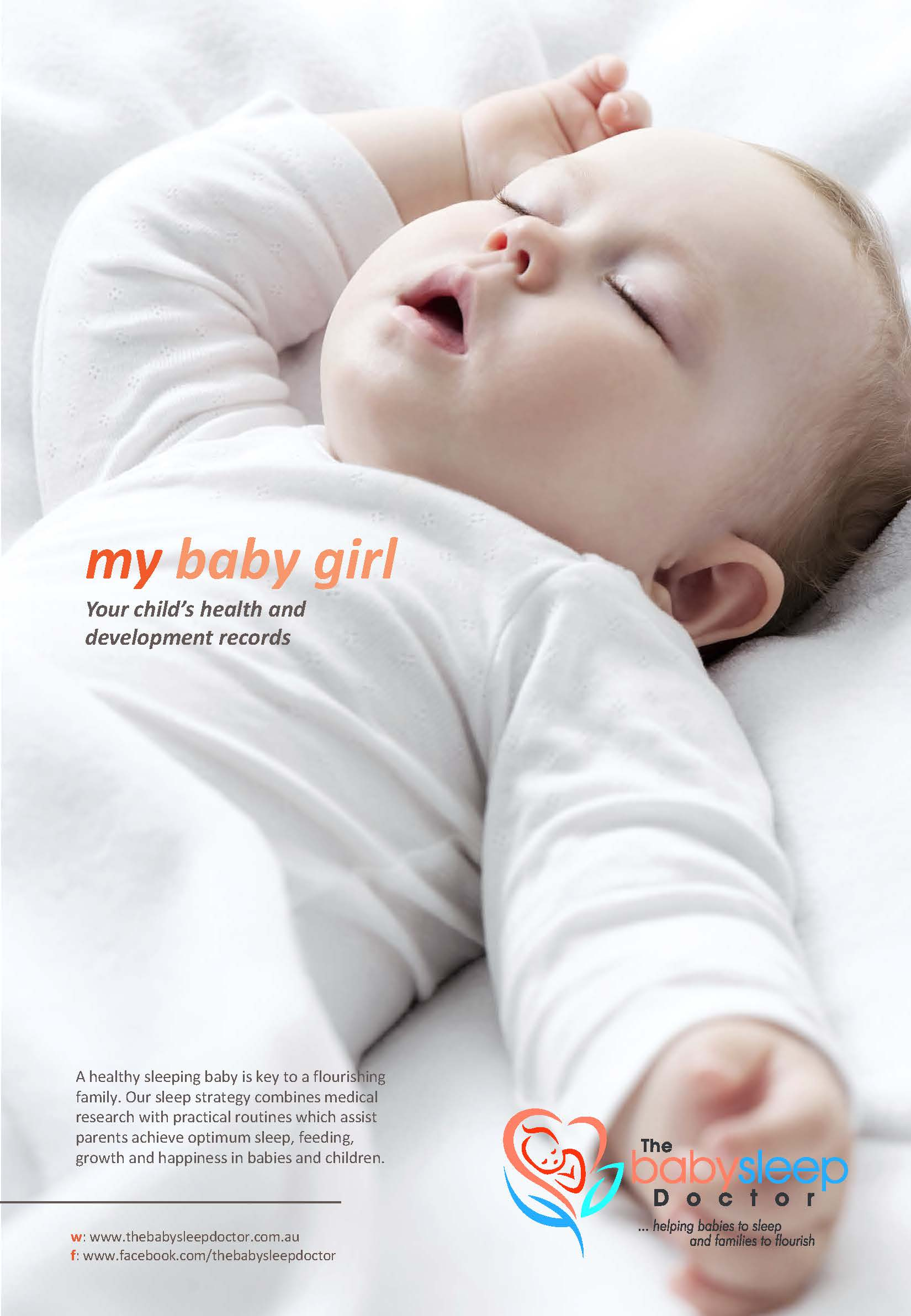 my baby girl - the baby sleep doctor